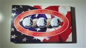2004 Denver Mint State Quarter Collection Uncirc MI, FL, TX, IA, WI